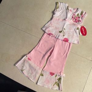 Baby Nay 2pc Pink Georgia outfit 6mos